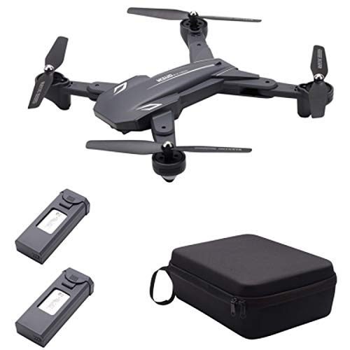 TIANQU VISUO XS816 Optical Flow Positioning Dual Camera WiFi 2MP + 0.3MP RC Drone G-Sensor Gesture Shooting 3D Stunt - RTF,2 Batteries 1 Bag