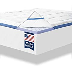 Upgrade Your Mattress and Start Getting the Best Sleep of Your Life  Why Buy a Mattress Topper?  -Prolong your mattress life, save money, and relieve stress  -ViscoSoft mattress toppers soften your firm mattress for a more comfortable night's...