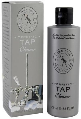 Town Talk Tap Cleaner, 8.5 fl oz. by for Chrome, Nickel and Gold Plated Bathroom ()