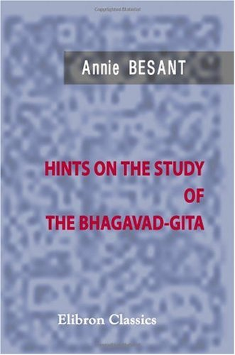 Hints on the Study of the Bhagavad-Gita for sale  Delivered anywhere in USA