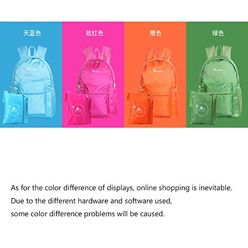 Backpack Lightweight Surface Waterproof Large Capacity Folding Backpack Camping Hiking Travel Bag With Mini First Aid Pouch