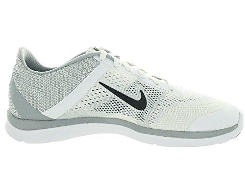 Nike Donna In Stagione Tr 4 Cross Trainer Scarpa Da Running Bianco / Grigio Scuro / Wlf Gry / Cl Gry