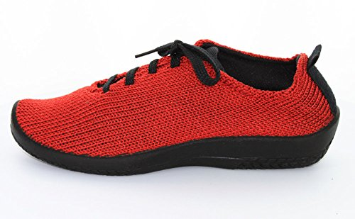 LS Red Arcopedico Womens Knit Oxford Tie RcUwfvKHq