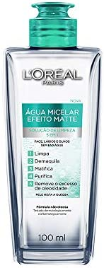 Agua Micelar Loreal Paris Efeito Matte, 100Ml, L'Oréal P