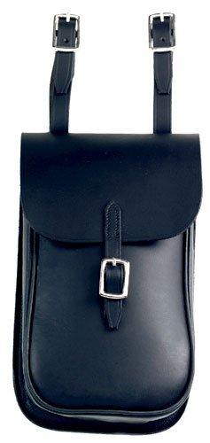 Down Under Saddle Supply Exmoor English Saddle Bag, Black