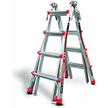 Little Giant 12017 RevolutionXE 300-Pound Duty Rating Multi-Use Ladder, 17-Foot