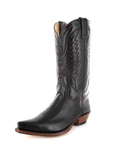 Sendra Boots Stiefel 2073 Braun-Marron Westernstiefel Cowboystiefel