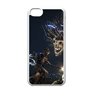 iPhone 5c Cell Phone Case White Bloodborne atlas phone case adgh7008824