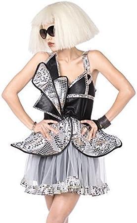 mujer estrella POP FAMOSO celebrity Lady Gaga naughties Disfraz ...