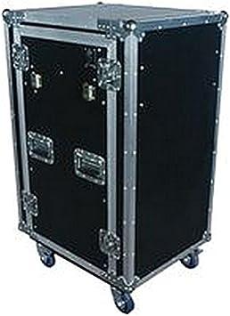 Funda para mesa de DJ/16U en ruedas de almacenamiento de Audio, funda para mesa de DJ /, ruedas 16U ON, MSL : Amazon.es: Electrónica