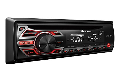 Pioneer DEH-150MP In-Dash Single-DIN CD/CD-R/CD-RW, MP3/WAV/WMA Car Stereo Receiver w/ 3.5mm Auxiliary Input, Remote Control & Detachable face plate