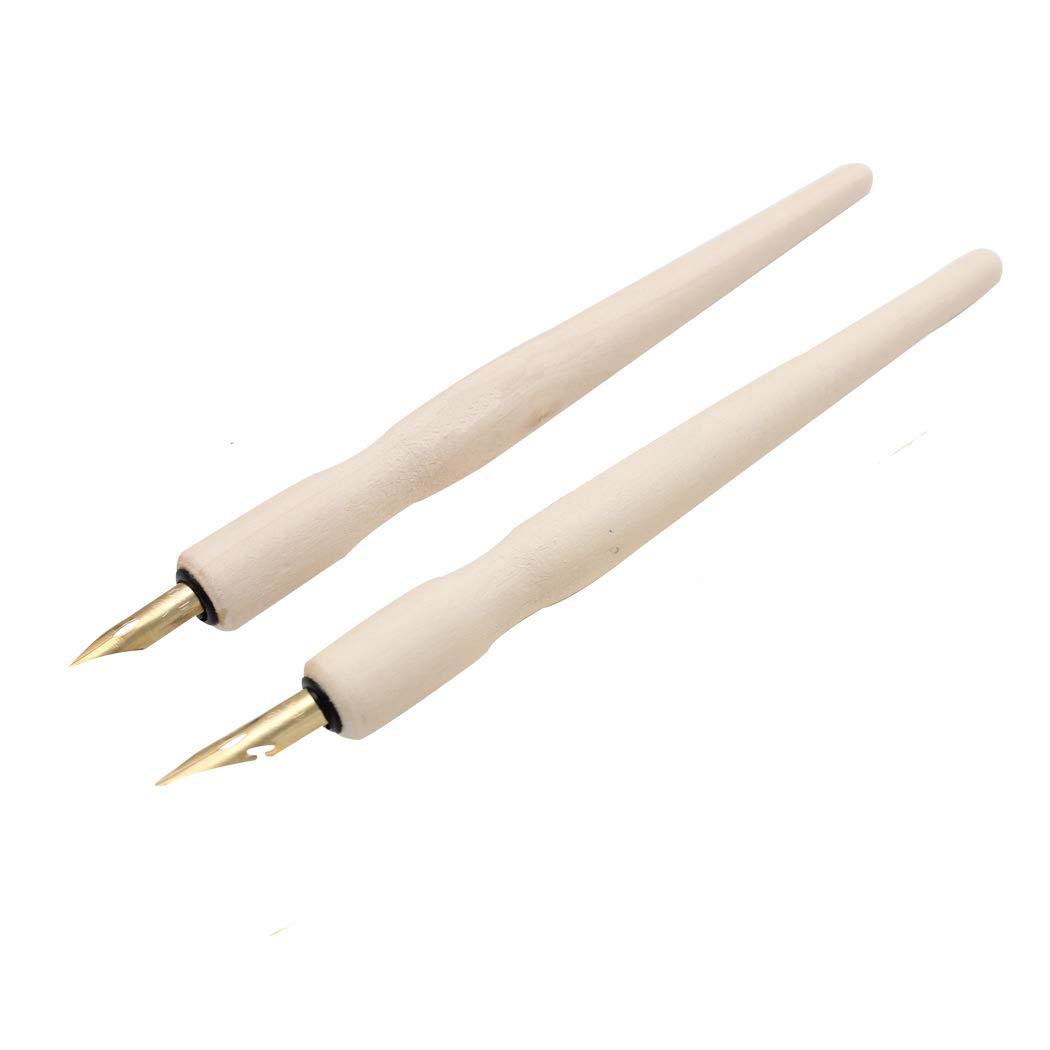 5 Pcs SIPLIV Redwood Professional Manga Pen Dip Pen Set Manga Cartoon Comic Drawing Painting Kit