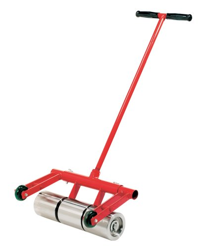 Floor Roller (Roberts 10-950 75-Pound Heavy Duty Vinyl and Linoleum Floor Rollers with Chrome Plated Rollers and Removable Handle for Easy Storage)