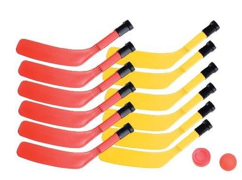 Knee Goalie Junior Pads Hockey (Champion Sports Scooter Board Hockey Set (Multi))