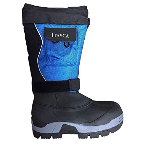 Itasca Men's Snowmobile Blue 400g Thinsulate Insulation Boot