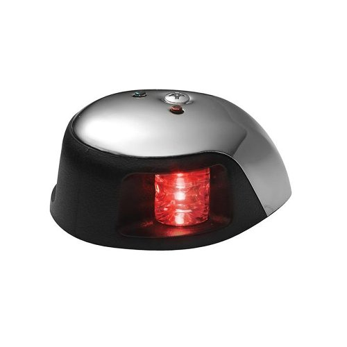 Attwood 3500 Series 1-Mile LED Red Sidelight 12V Stainless Steel Housing