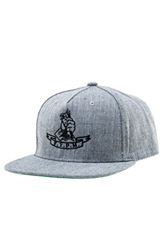 Classy Brand Fuck You Pay Me Snapback Hat One Size Heather Grey