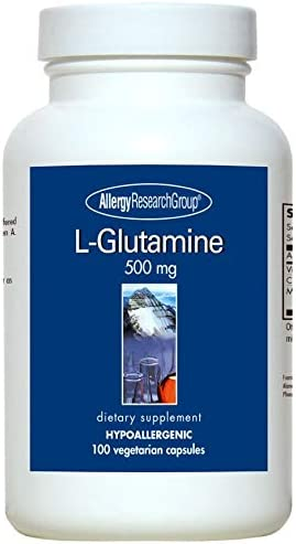 Allergy Research Group – L-Glutamine 500 mg – 100 vcaps