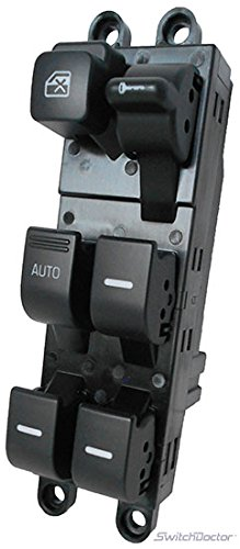 SWITCHDOCTOR Window Master Switch for 1999-2002 Mercury Villager(4 Window) (Dark Portland)