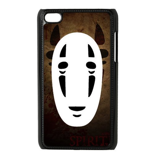 Fashion Spirited Away Anime Hard Snap On Plastic Cover Case for iPod Touch 4, 4th Generation (Spirited Away Ipod 4 Case)