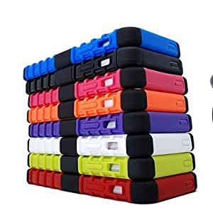 ZCL sold out Tough Hybrid Heavy Duty Rugged Hard Rubber Kick Stand Case Cover for iPhone 5 5S , White
