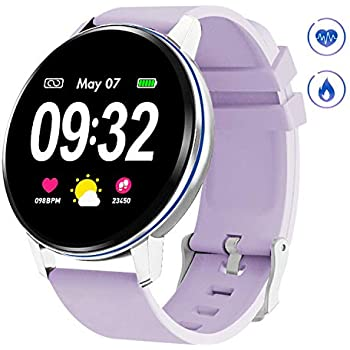 Amazon.com: TURNMEON Womens Smart Watch, Waterproof Fitness ...