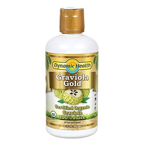 Dynamic Health Graviola Gold Supplement, 32 Ounce