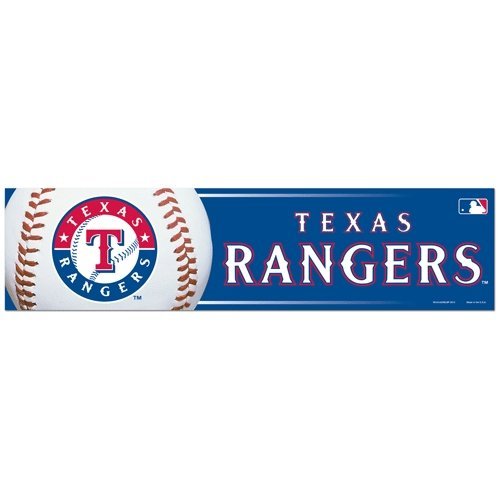 (Wincraft TX Rangers Bumper)