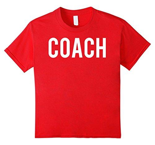 Kids Coach T Shirt - Cool new retro funny cheap sports gift tee 4 - Cheap 4 Retro