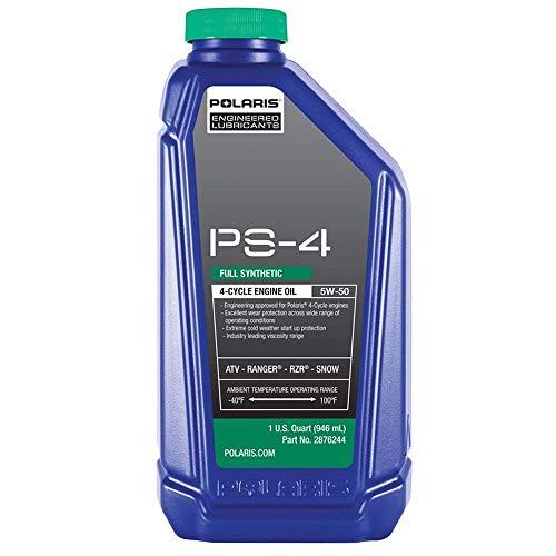 (Polaris Factory OEM Sportsman ATV Ranger Razor RZR PS4 Oil 32oz Quart 2876244)