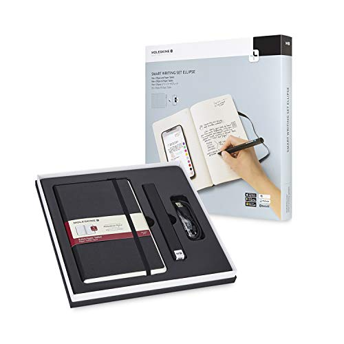 Moleskine Pen+ Ellipse Smart Writing Set Pen & Ruled Smart Notebook - Use with Moleskine Notes App for Digitally Storing Notes (Only Compatible with Moleskine Smart Notebooks) by Moleskine (Image #2)