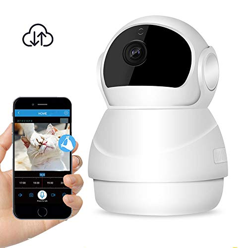 HAYUL Pet Camera HD WiFi Camera 1080P Wireless Home Security Camera with 2-Way Audio,Push Alert Support Cloud Storage 3D Navigation by HAYUL