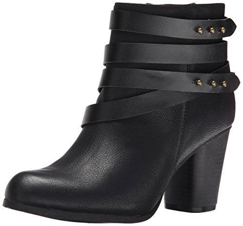 Madden Girl Women's Deluxx Boot, Black Paris, 6.5 M US