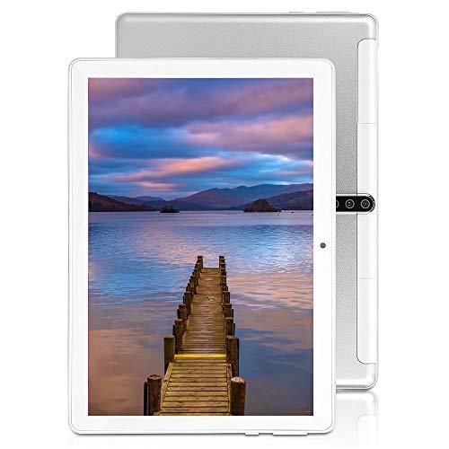 10 inch Android Tablet, 4GB RAM, 64GB ROM, Octa -Core Processor, 5G-WiFi,Unlocked 3G Phone Call,Dual SIM Cards GPS,G7…