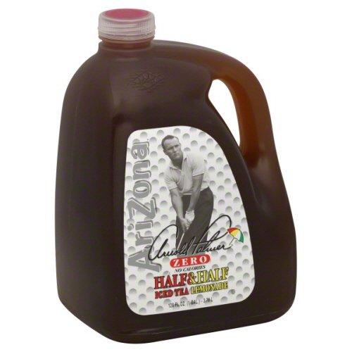 Arizona Arnold Palmer Half & Half, Iced Tea Lemonade, Zero, 128 Fl. Oz, ( Pack of 2)