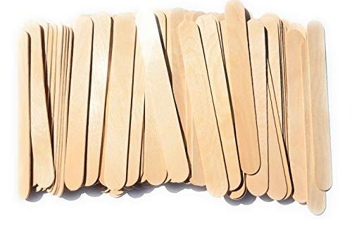 Kids Crafts Jumbo Craft Sticks - Real Wood - Pack of 100