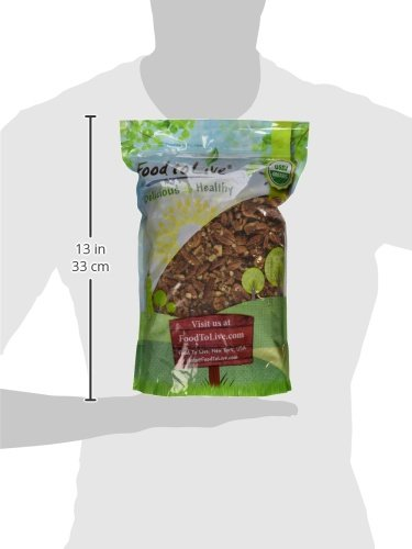 Food to Live Organic Pecans (Raw, No Shell, Kosher) (3 Pounds) by Food to Live  (Image #11)
