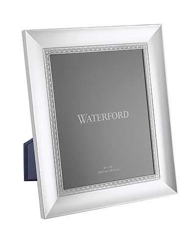 LISMORE LACE patterned 8x10 silver frame by Waterford - 8x10