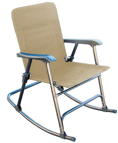 Prime Products 13-6506 Elite Arizona Tan Rocker Folding Chair
