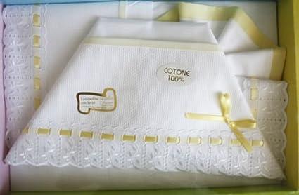Set lenzuolini da lettino o culla con sponde per neonati bambini