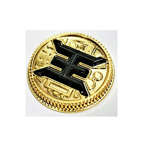 Rare Cute Zeo Gold King Master Legacy Coin Gold Ranger Cosplay Prop Collect Art Quick Arrive