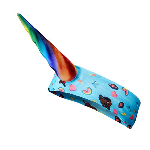 The New Day WWE Authentic Rainbow Unicorn Headband by WWE Authentic