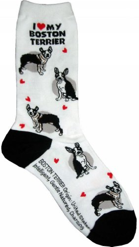 Best buy Love Boston Terrier Gift Collection (Women Cotton Socks)