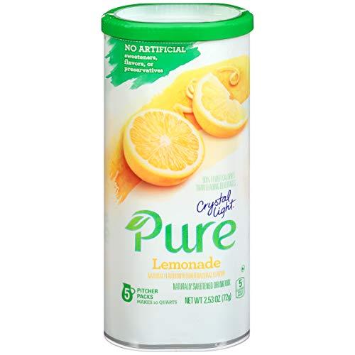 - Crystal Light Lemonade Drink Mix (5 Pitcher Packets)