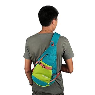 ENKNIGHT Waterproof Chest Bag Casual Sling Bag Unbalance Backpack Hiking Daypack