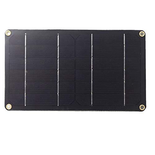 6V 6W Solar Panel Monocrystalline Cell Module for DIY Kit LED Light Camping Hiking Outdoor Travel Mobile Phone Car Power Charger