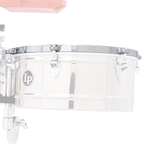 Latin Percussion LP2526 15-Inch Prestige Timbale Rim Chrome by Latin Percussion