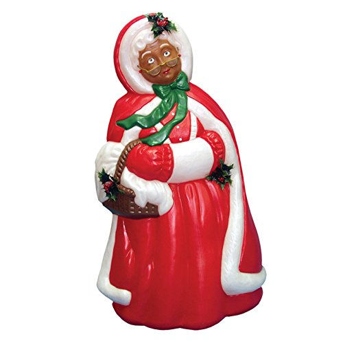 General Foam Mrs Santa Claus African American Christmas L...
