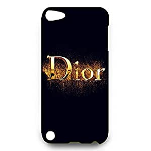 Dior Logo Back Cover For Ipod Touch 5th 3D Hard Plastic Case