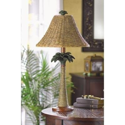 Palm Tree Patio Lamp in US - 3